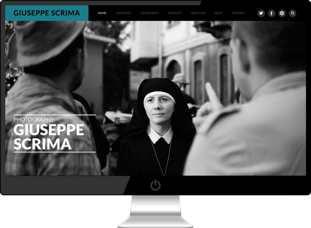 Realizzazione Sito Wordpress Fotografico Torino - Giuseppe Scrima | DreamRealMEDIA
