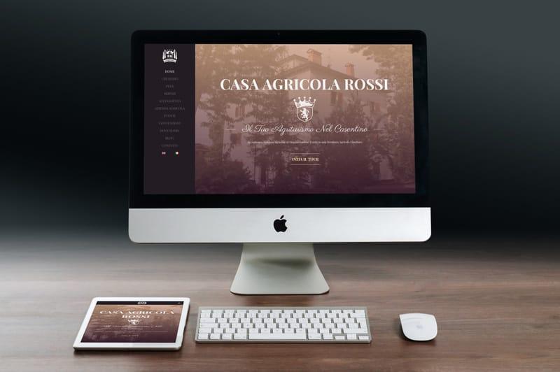 sito wordpress agriturismo casa agricola rossi