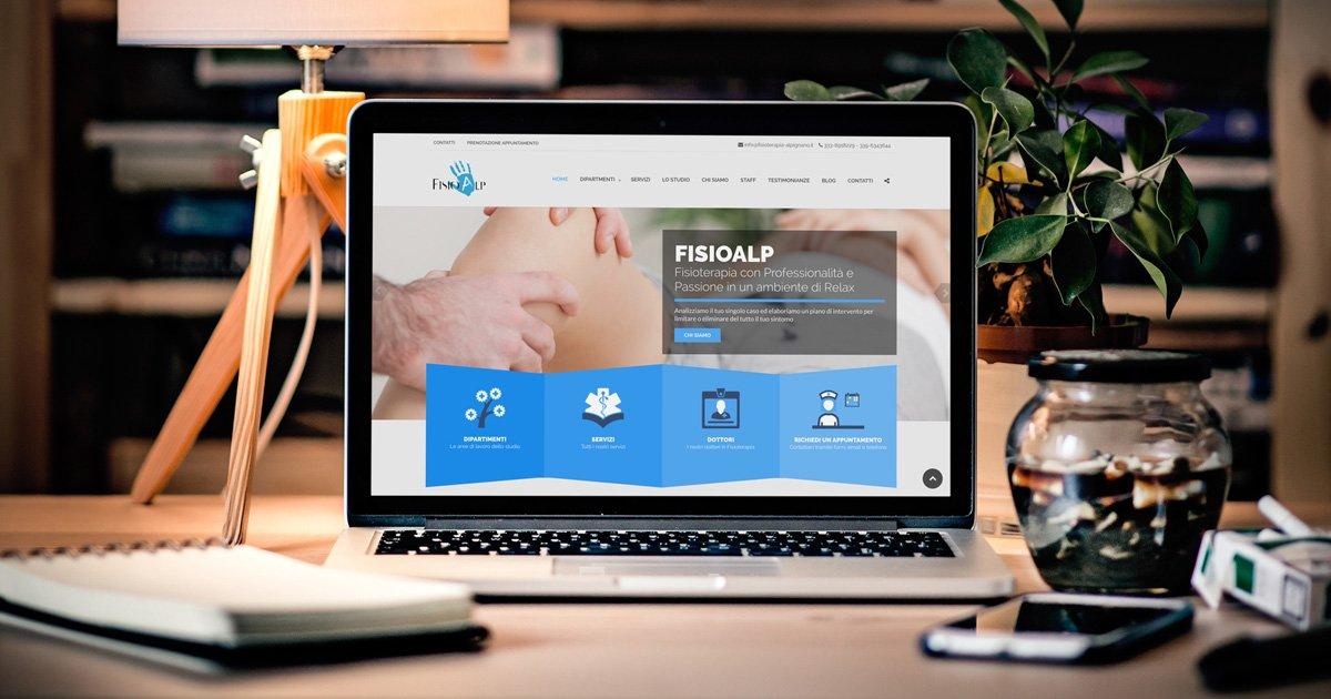realizzazione-siti-web-torino-siti-web-wordpress-torino studio-fisioterapia-torino-fisioalp