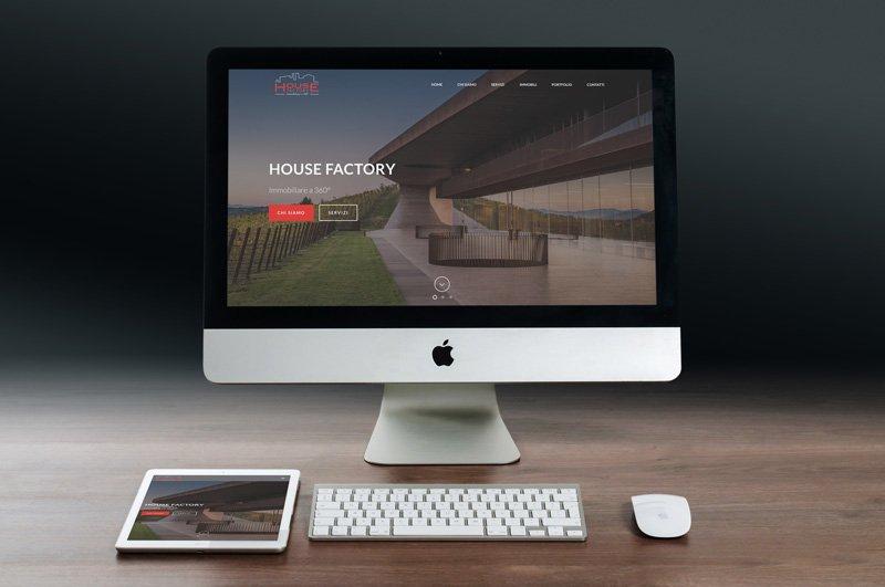 sito wordpress agenzia immobiliare torino house factory