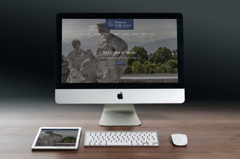 realizzazione sito web palazzo della luce torino