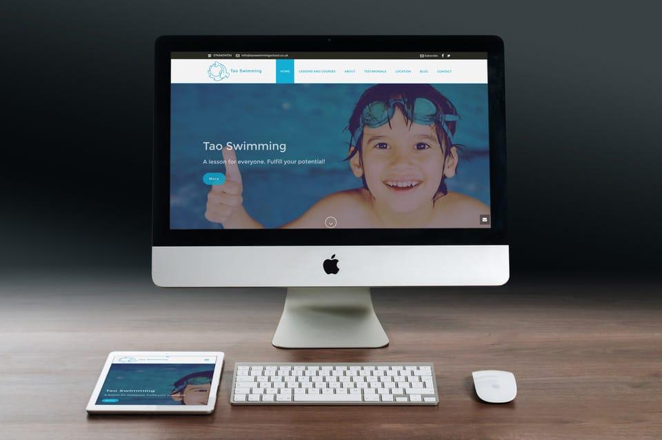 Realizzazione Sito Wordpress Perosonal Trainer Londra - like a fish in water | DreamRealMEDIA