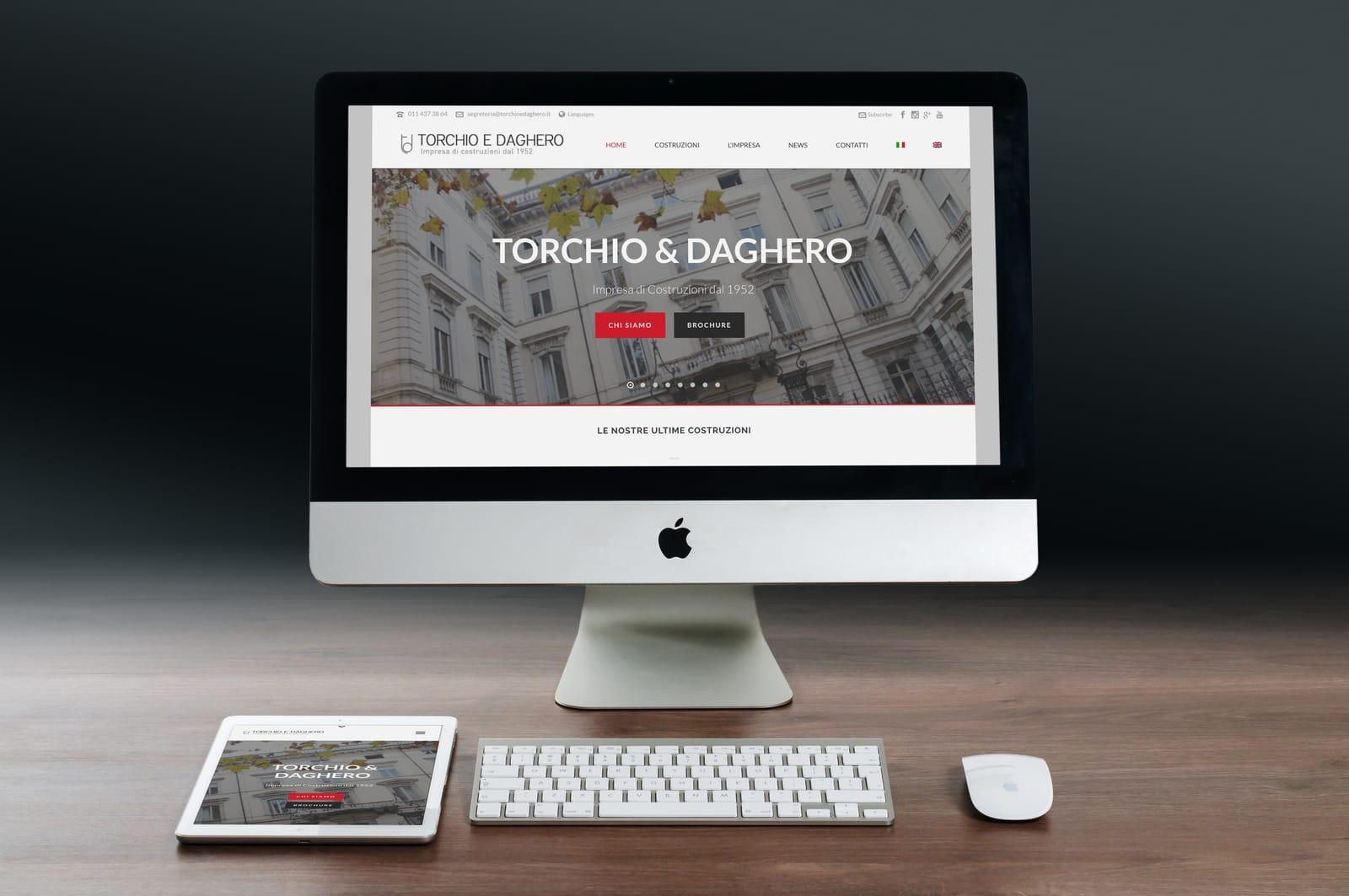realizzazione sito web wordpress torino impresa edile torchio e daghero