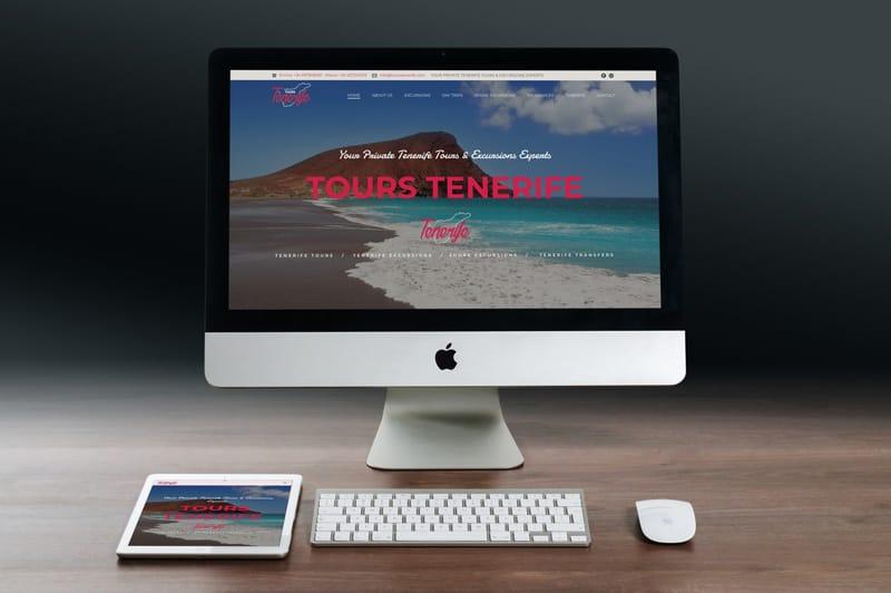 realizzazione sito wordpress tour operator tours tenerife